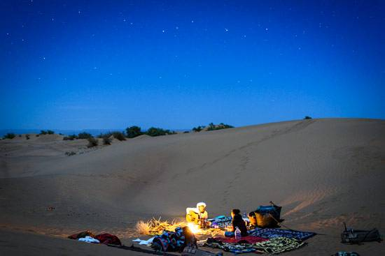 6 Days Tour from Rabat to Marrakech via Chefchaouen - Fes Merzouga Camel Trekking and night in the desert