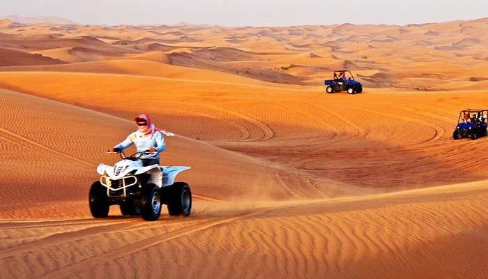 ATV Quad-Biking in Merzouga Desert