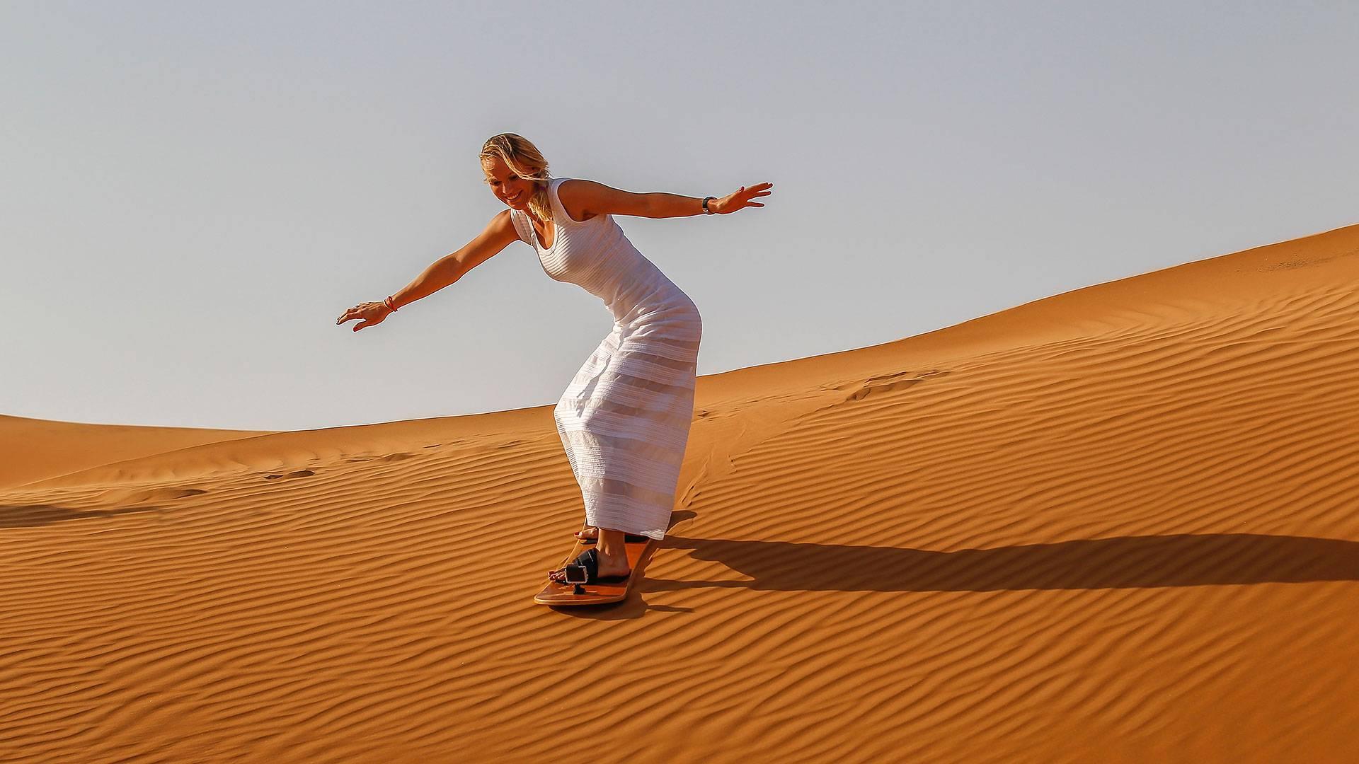 Sand Boarding in Merzouga