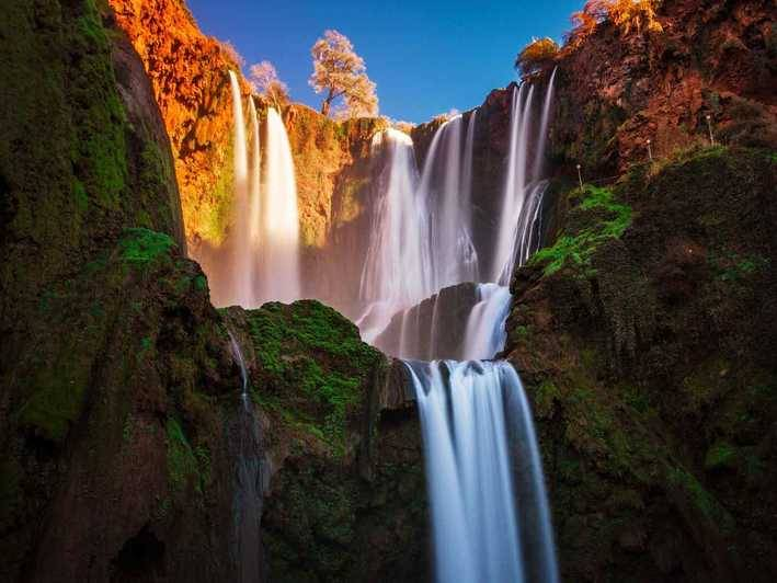 Marrakech Day Excursion to Ouzoud and  Waterfalls: