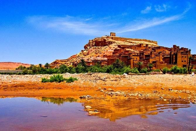 Excursión de día desde Marrakech a Kasbah Ait Benhaddou - Paseo en Camellos